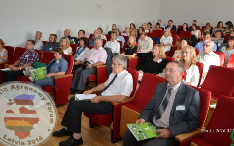 20th Baltic Agronomy Forum